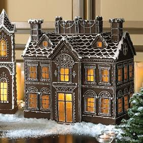 Fancy Gingerbread House Templates Cottage Affairs Gingerbread House