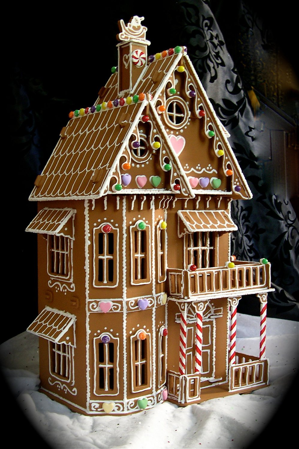 Fancy Gingerbread House Templates Faux Gingerbread House In the Victorian Style