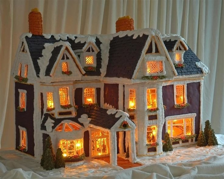 Fancy Gingerbread House Templates Getting Fancy Gingerbread House