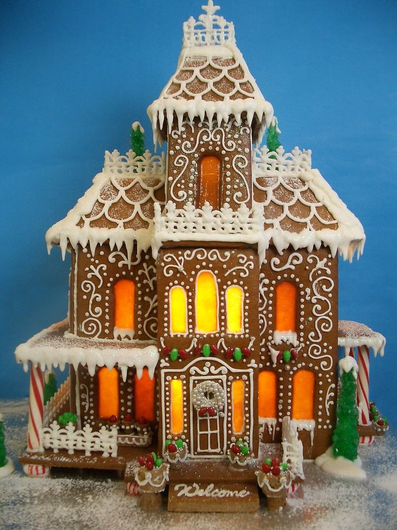 Fancy Gingerbread House Templates Gingerbread House 2011 Goo S by Anna