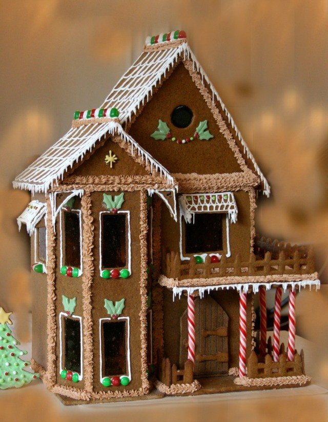 Fancy Gingerbread House Templates How to Make A Gingerbread House
