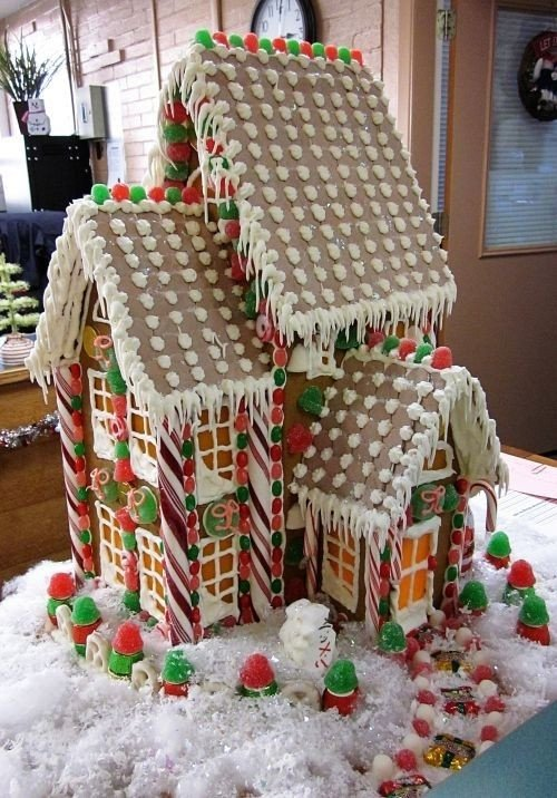 Fancy Gingerbread House Templates Patterns Gingerbread Recipe Shared From Ices New Mexico