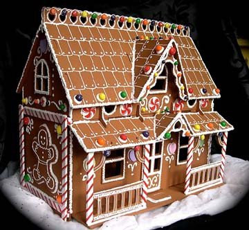 Fancy Gingerbread House Templates Personal Gallery Christmas Gingerbread House