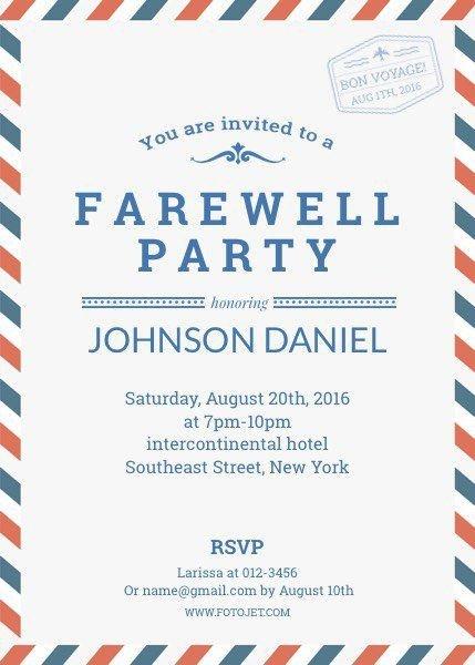 Farewell Invitation Template Free Pin by Jessica Ncube On Farewell Invitè