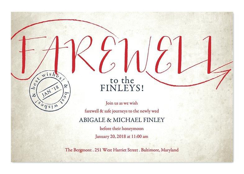 Farewell Party Invitation Template Free Farewell Invites – orgul Gbt