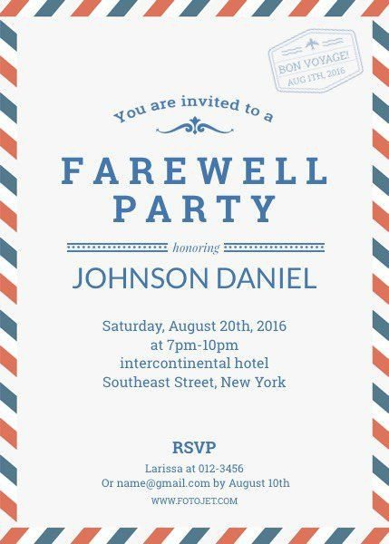 Farewell Party Invitation Template Free Pin by Jessica Ncube On Farewell Invitè