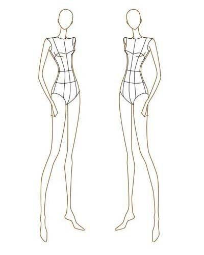 Fashion Design Templates to Print 41 Best Printable Templates Fashion Figure Templates
