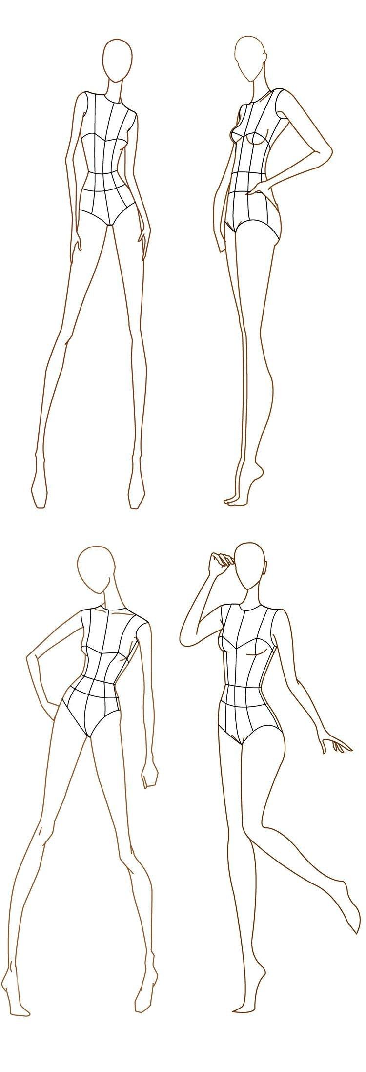 Fashion Design Templates to Print Free Fashion Design Templates More Here