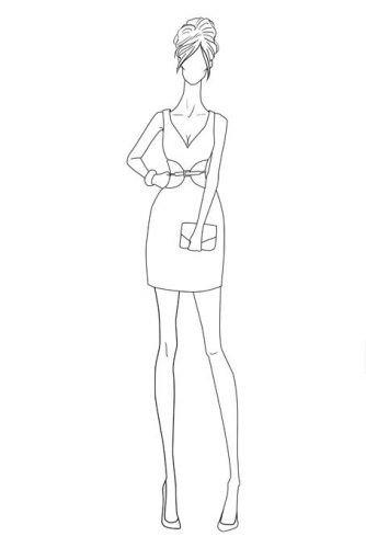 Fashion Design Templates to Print Fsketcher Templates