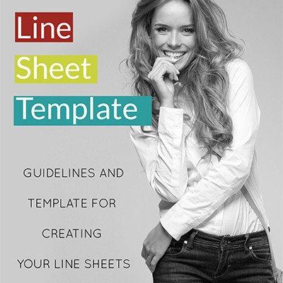 Fashion Line Sheet Template Agario5