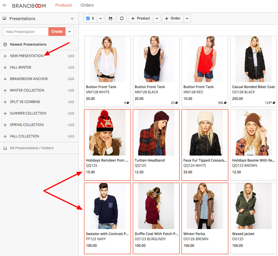 Fashion Line Sheet Template Create A Line Sheet In Minutes with Brandboom S Free Line