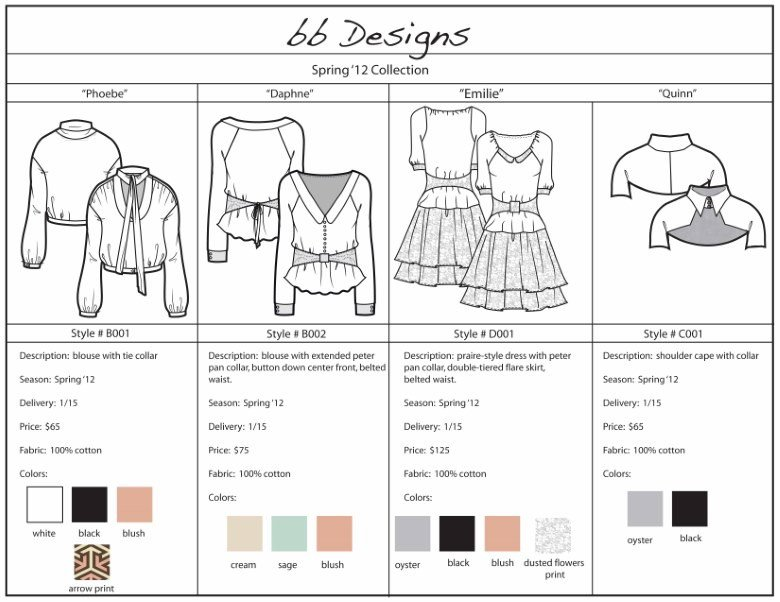 Fashion Line Sheet Template Line Sheet A Definitive Guide for Whlesale Fashion Utelier