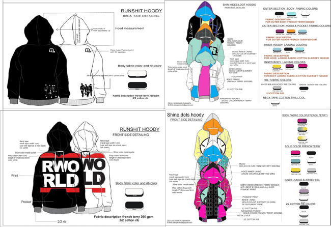 Fashion Line Sheet Template Line Sheet Apparel & Fashion