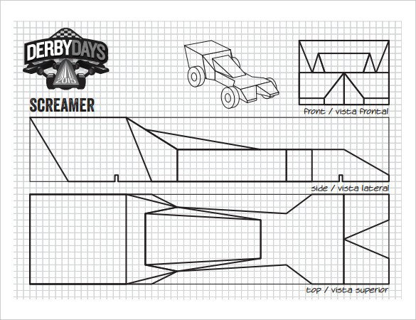 Fast Pinewood Derby Car Templates 21 Cool Pinewood Derby Templates – Free Sample Example