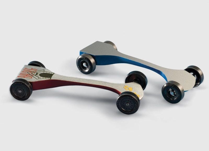 Fast Pinewood Derby Car Templates Speed Swoop Pattern Pinewood Derby Cars