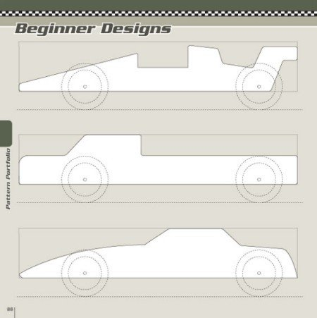 Fastest Pinewood Derby Car Templates Pinewood Derby Car Templates