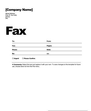 Fax Cover Letter Template Fax Cover Sheet Template Free Fax Cover Letter
