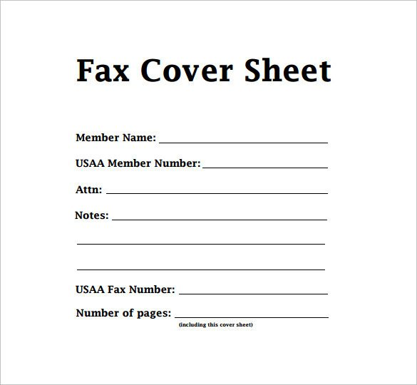 Fax Cover Letter Template Sample Modern Fax Cover Sheet 6 Documents In Pdf Word
