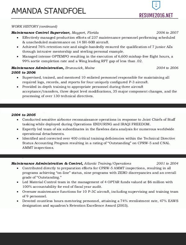 Federal Government Resume Template Federal Resume Template