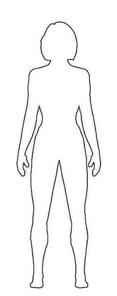 Female Body Outline Template All Ballet Moves and Positions with the Names and Pictures