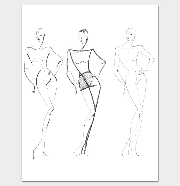 Female Body Outline Template Body Outline Template 27 Printable Pdf formats Dotxes