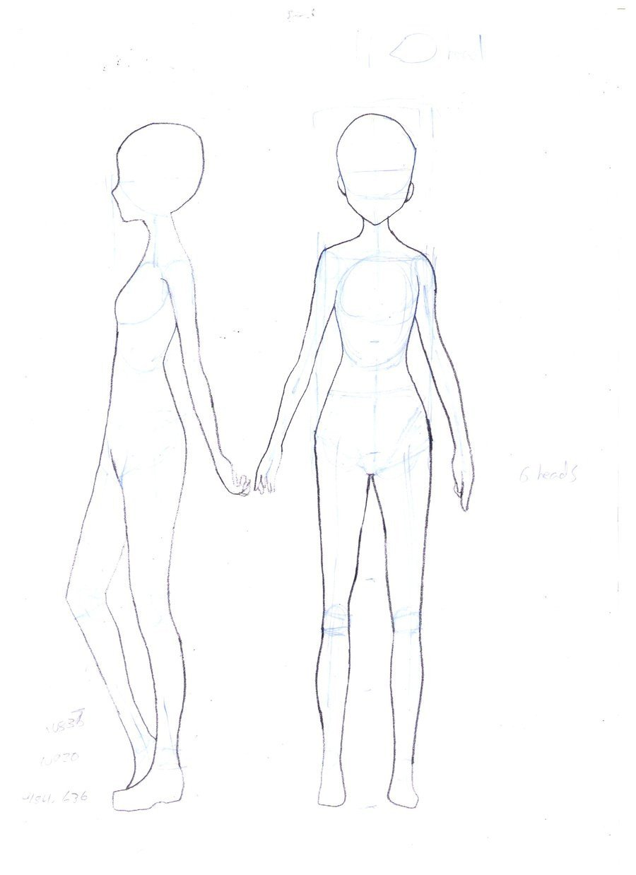 Female Body Outline Template Female Body Template by Faithtale On Deviantart
