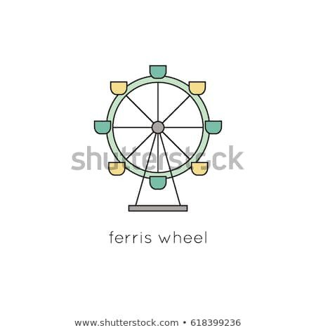 Ferris Wheel Template Ferris Stock Royalty Free & Vectors