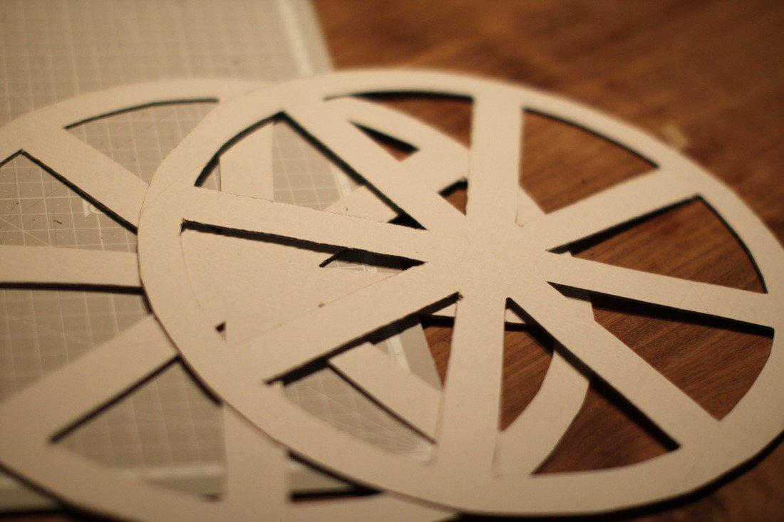 Ferris Wheel Template Paper Ferris Wheel