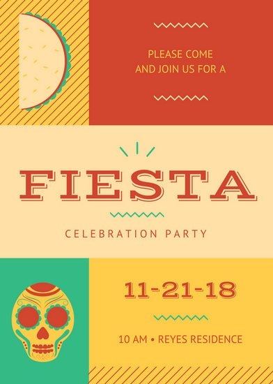 Fiesta Invitations Templates Free Customize 73 Fiesta Invitation Templates Online Canva