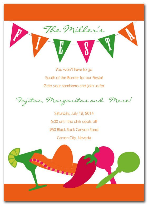 Fiesta Invitations Templates Free Fiesta Invitations by Invitationconsultants