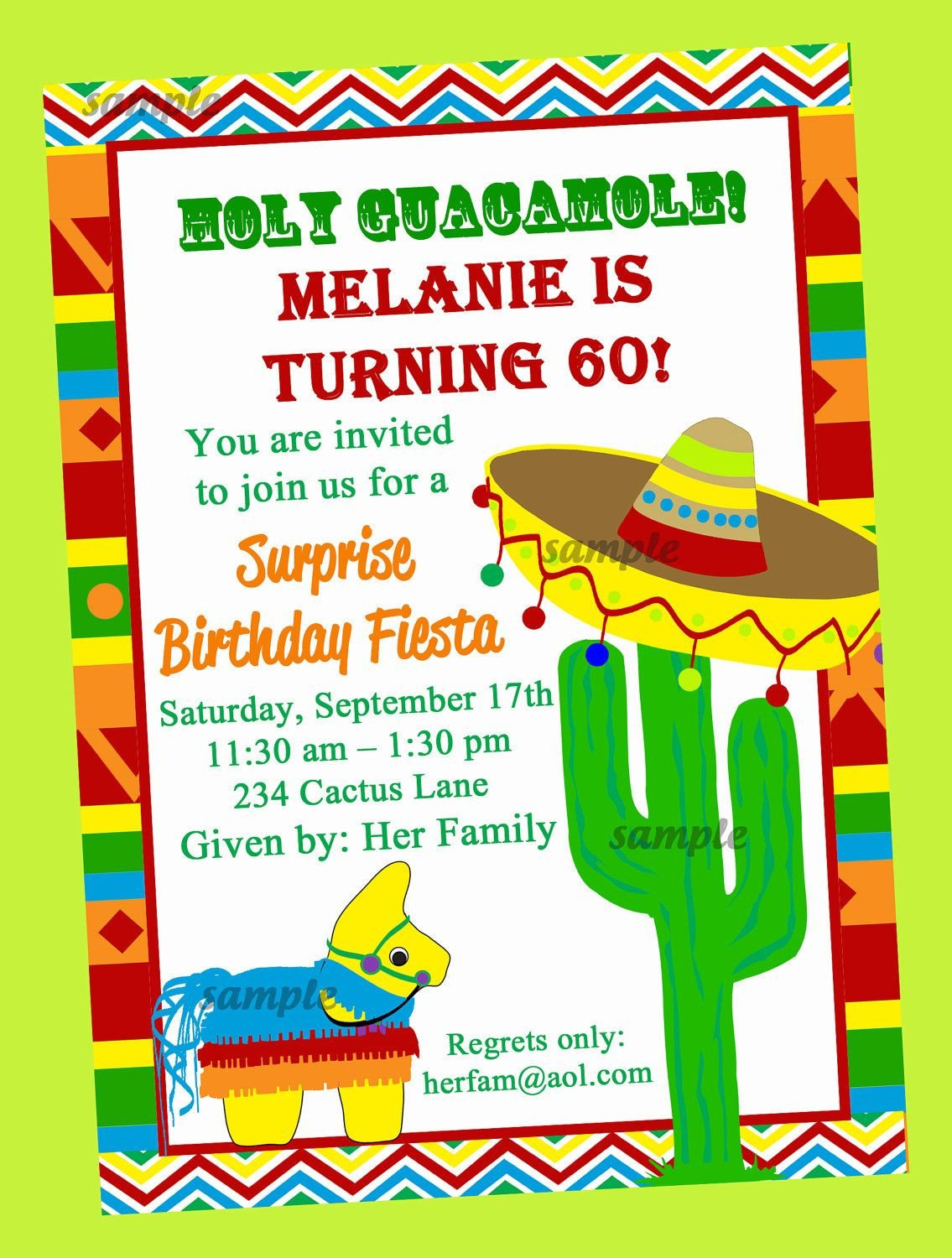 Fiesta Invitations Templates Free Fiesta Party Invitation Printable Birthday by
