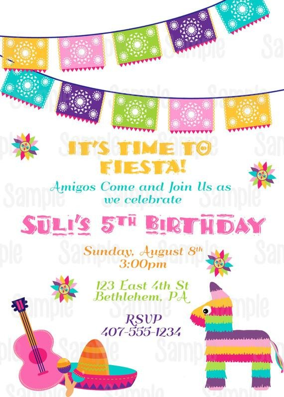 Fiesta Invitations Templates Free Items Similar to Printable Fiesta Invitation 5 De Mayo
