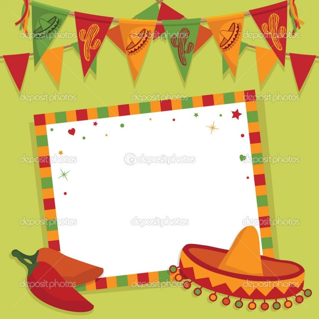 Fiesta Invitations Templates Free Mexican Fiesta Invitation Templates Free