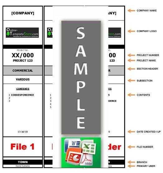 File Folder Label Template Template for File Folder Labels Cpv