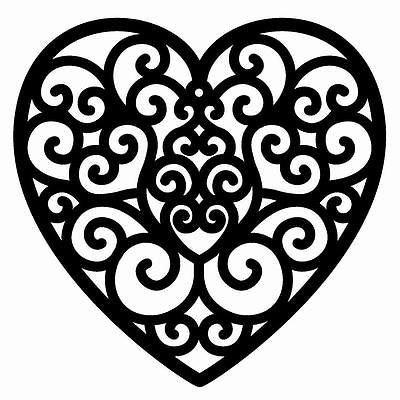 Filigree Design Templates Image Result for Heart Filigree Design