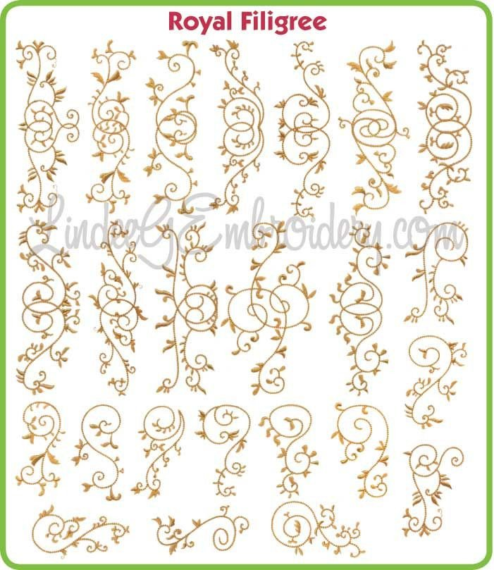 Filigree Design Templates Royal Filigree Use to Decorate Cakes with Royal Icing