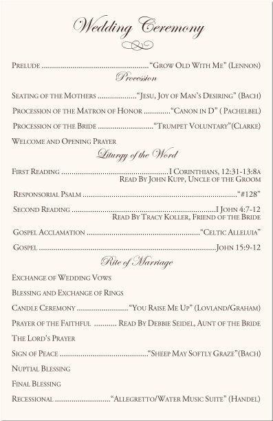 Filipino Catholic Wedding Program 25 Best Ideas About Catholic Wedding Programs On