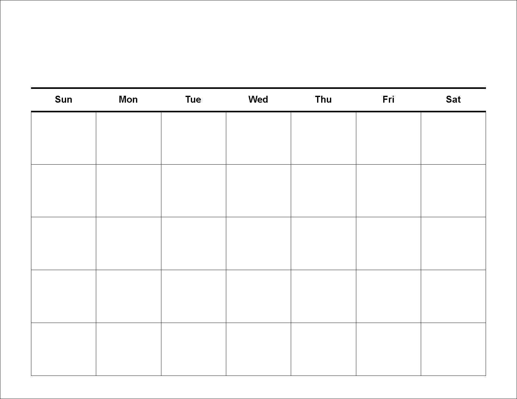Fill In Calendar Template December 2018 – Template Calendar Design