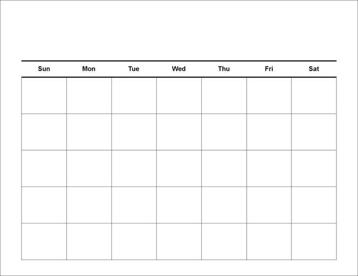 Fill In Calendar Template Fill In Calendar Template
