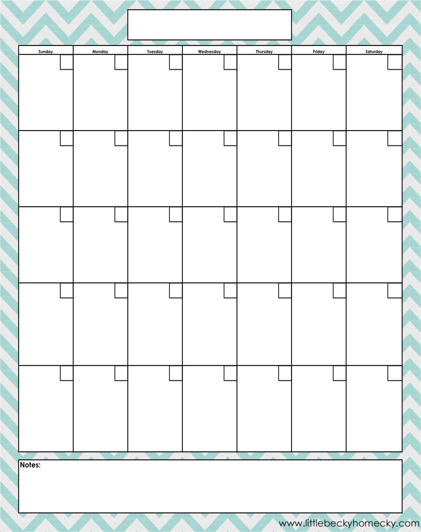 Fill In Calendar Template Monthly Calendar Copy Creating A Planner