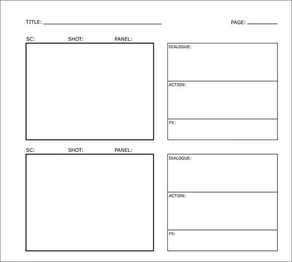 Film Storyboard Template Pdf 35 Free Storyboard Samples Pdf Doc