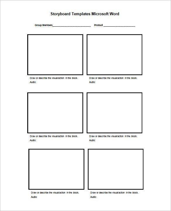 Film Storyboard Template Pdf 8 Best Storyboard Template Images On Pinterest