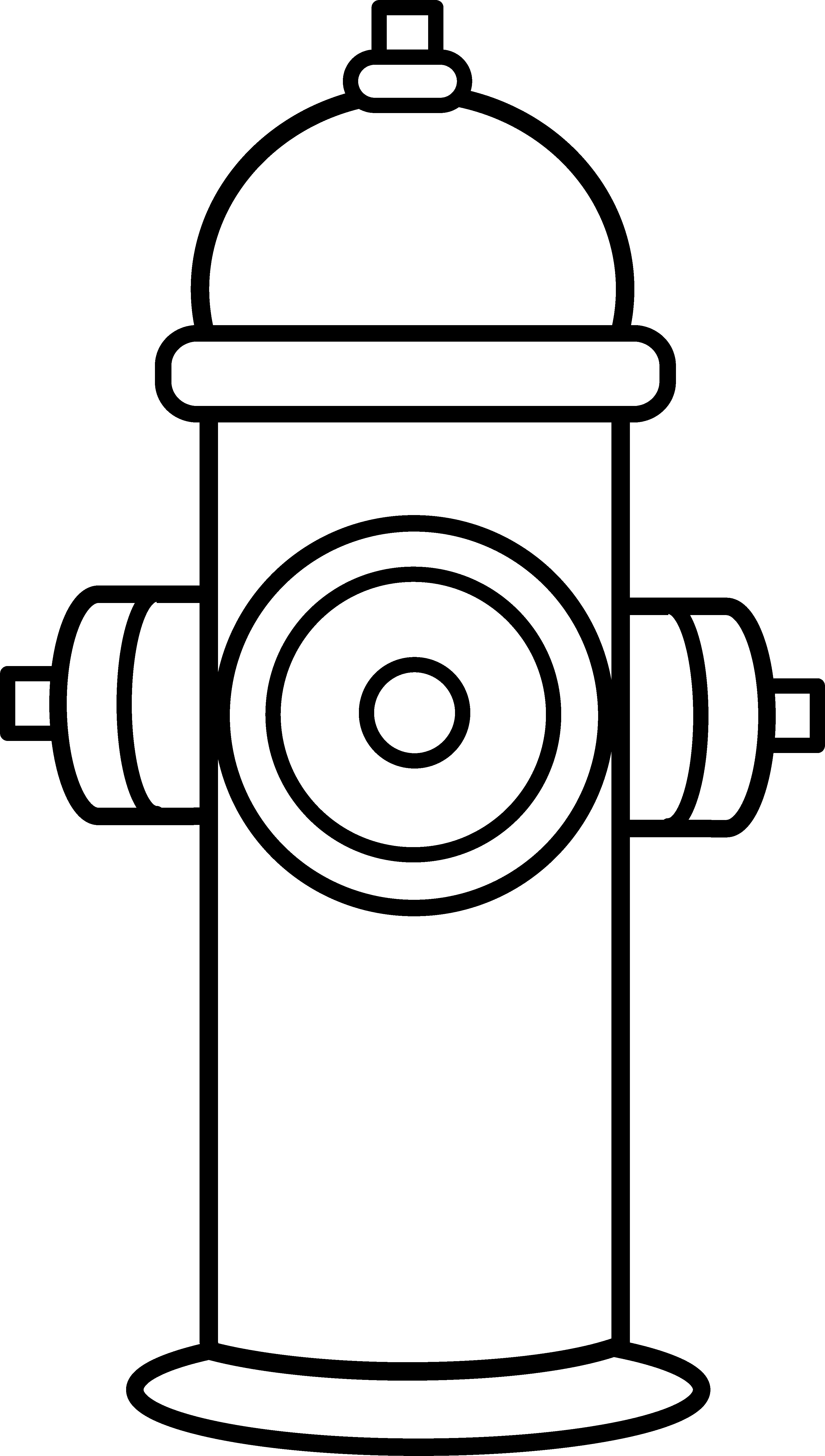 Fire Hydrant Printable Fire Hydrant Coloring Page Free Clip Art