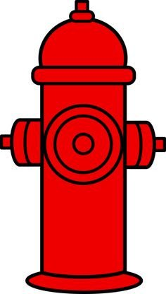 Fire Hydrant Printable Fire Hydrant Pattern Use the Printable Outline for Crafts