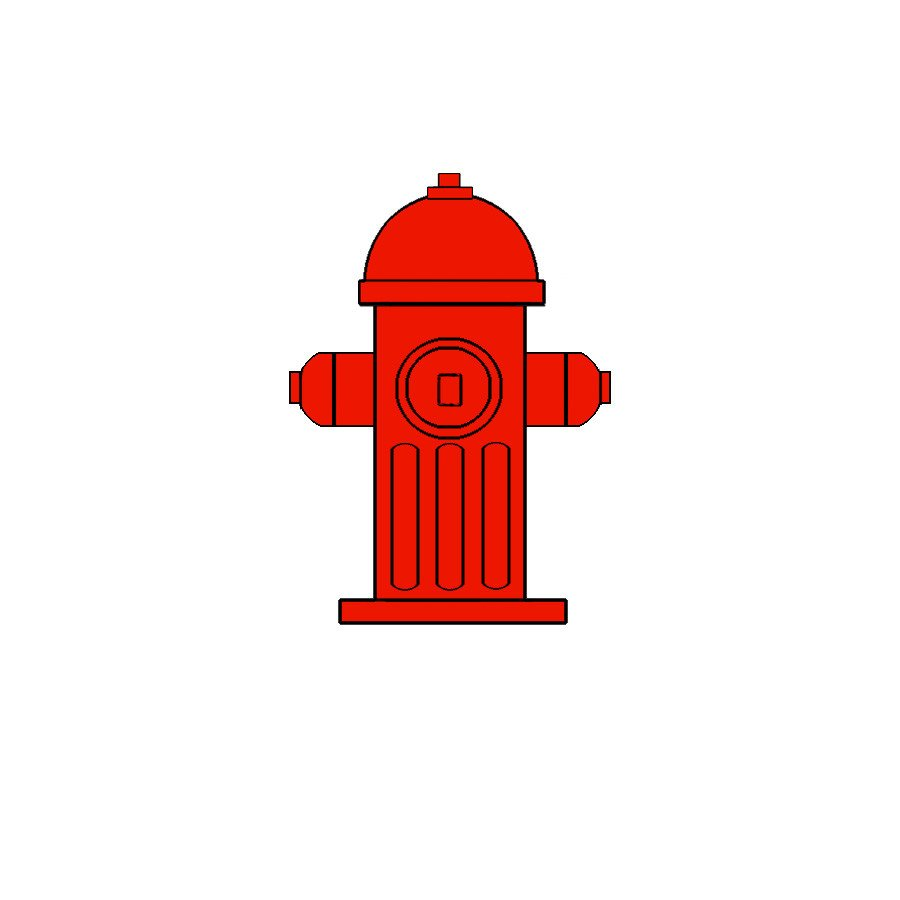 Fire Hydrant Printable Fire Safety Education Clip Art