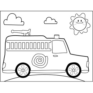Fire Truck Template Printable 30 Of Pickup Truck Template Preschool