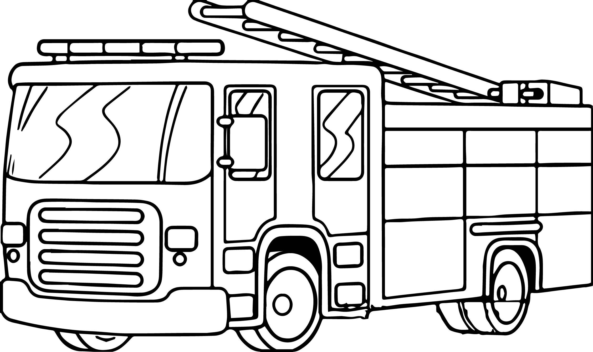 Fire Truck Template Printable Fire Kraken Coloring Pages Printable Coloring Pages