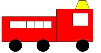 Fire Truck Template Printable Fire Truck Template by Jazz S Corner