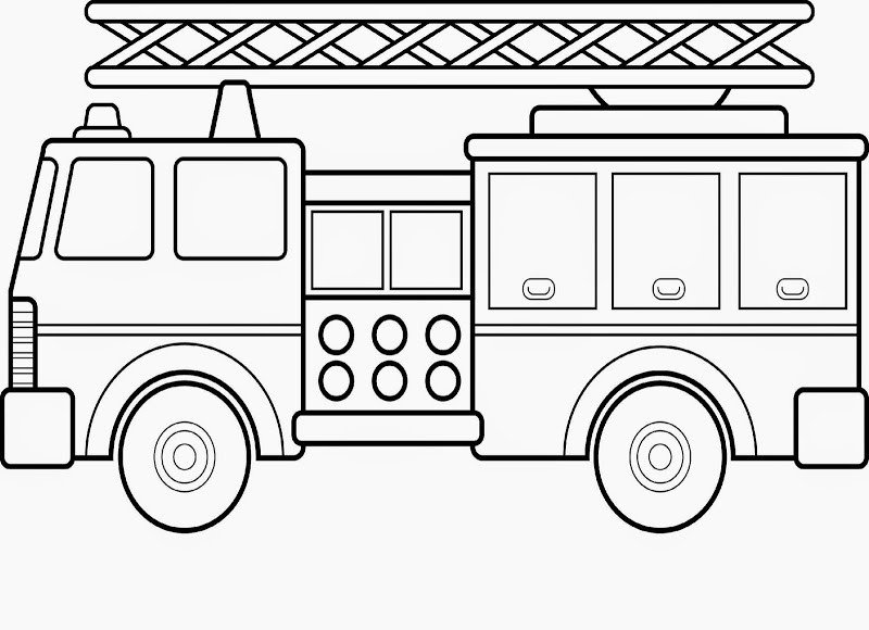 Fire Truck Template Printable Monster Jam Truck Coloring Pages Printable – Colorings