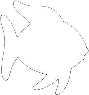 Fish Cut Out Template Character Education Using Children S Literature Rainbow